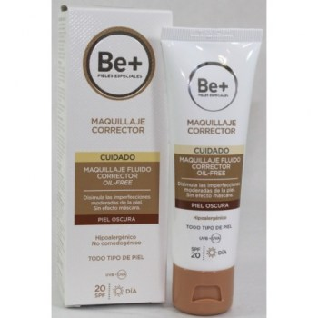 be-maquillaje-corrector-oil-free-piel-oscura-40-ml